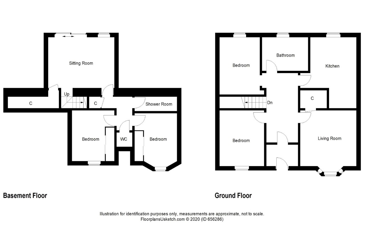 Floorplans For David Street, Kirkcaldy, Fife